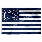 Penn State Nittany Lions Nation Flag 3ft X 5ft Polyester NCAA Banner Flying Size