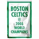 Boston Celtics 2008 World Champions Flag 3ft X 5ft Polyester NBA1 Team Banner Fl