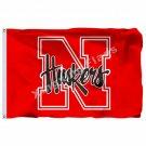 Nebraska Cornhuskers Flag 3ft X 5ft Polyester NCAA Banner Nebraska Cornhuskers F