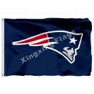New England Patriots Logo Flag 3ft X 5ft Polyester NFL New England Patriots Bann