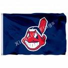 Cleveland Indians Flag 3ft X 5ft Polyester MLB Cleveland Indians Banner Flying S