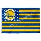 Golden State Warriors Nation Flag 3ft X 5ft Polyester NBA1 Golden State Warriors