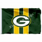 Green Bay Packers Flag 3ft X 5ft Polyester NFL1 Green Bay Packers Banner Flying