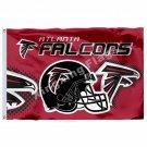 Atlanta Falcons New Wordmark Flag 3ft X 5ft Polyester NFL1 Atlanta Falcons Banne