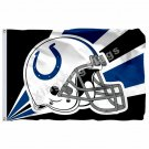 Indianapolis Colts Helmet Lighting Flag 3ft X 5ft Polyester NFL1 Indianapolis Co