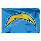 San Diego Chargers Logo Flag 3ft X 5ft Polyester NFL San Diego Chargers Banner F