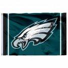 Philadelphia Eagles Column Flag 3ft X 5ft Polyester NFL Philadelphia Eagles Bann