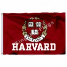 Harvard University Crimson Flag 3ft x 5ft Polyester NCAA Banner Flying Size No.4
