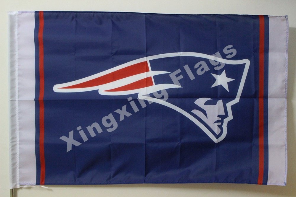 New England Patriots Column Flag 3ft X 5ft Polyester NFL1 New England Patriots B