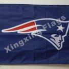 New England Patriots Column Flag 3ft X 5ft Polyester NFL1 New England Patriots B