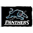 Penrith Panthers Flag 3ft X 5ft National Rugby League NRL Banner Size 4 90*150cm