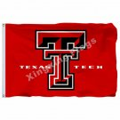 Texas Tech Red Raiders Flag 3ft X 5ft Polyester NCAA Banner Texas Tech Red Raide