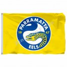 Parramatta Eels Flag 3ft X 5ft National Rugby League NRL Banner Size 4 90*150cm