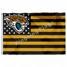 Jacksonville Jaguars Flag 3ft x 5ft Polyester NFL Banner Flying Size No.4 90*150