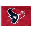 Houston Texans Column Flag 3ft x 5ft Polyester NFL Houston Texans Banner Flying