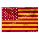 Southern California Trojans Flag 3ft X 5ft Polyester NCAA Banner Southern Cal Fl