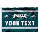 Philadelphia Eagles Custom Your Text Flag 3ft X 5ft Polyester NFL1 Team Banner F