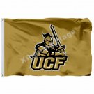 Central Florida Golden Knights Flag 3ft X 5ft Polyester NCAA Banner UCF Flying S