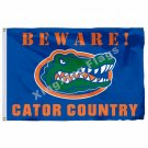 Florida Gators With Modified US Flag 3ft X 5ft Polyester NCAA Pirates Banner Fly