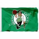 Boston Celtics Flag 3ft X 5ft Polyester NBA1 Boston Celtics Banner Flying Size N