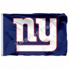 New York Giants Logo Flag 3ft X 5ft Polyester NFL New York Giants  Banner Flying