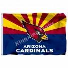Arizona Cardinals Arizona State Flag 3ft X 5ft Polyester NFL1 Arizona Cardinals
