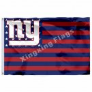 new york giants Flag 3ft x 5ft Polyester NFL new york giants Banner Flying Size