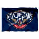 New Orleans Pelicans Flag 3ft X 5ft Polyester NBA1 New Orleans Pelicans Banner F