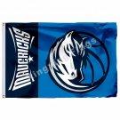 Dallas Mavericks Wordmark Flag 3ft X 5ft Polyester NBA1 Dallas Mavericks Banner