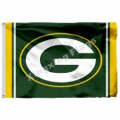 Green Bay Packers Column Flag 3ft X 5ft Polyester NFL Green Bay Packers Banner F
