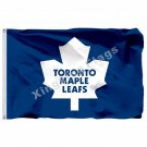 Toronto Maple Leafs Large Logo Flag 3ft x 5ft Polyester NHL Banner Toronto Maple