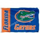 Florida Gators Wordmark Flag 3ft X 5ft Polyester NCAA Pirates Banner Flying Size