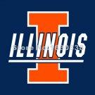 Illinois Fighting Illini Flag 3ft X 5ft Polyester NCAA Banner Illinois Fighting