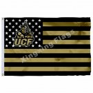 Central Florida Golden Knights Nation Flag 3ft X 5ft Polyester NCAA Banner Flyin