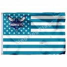 Charlotte Hornets Nation Flag 3ft X 5ft Polyester NBA1 Charlotte Hornets Banner