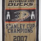 Anaheim Ducks Stanley Cup Champions Flag 3ft X 5ft Polyester NHL Banner Flying S