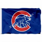 Chicago Cubs Flag 3ft X 5ft Polyester MLB Chicago Cubs Banner Flying Size No.4 1