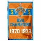 New York Knicks World Champions Flag 3ft X 5ft Polyester NBA1 Banner Flying Size
