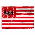 Nebraska Cornhuskers Nation Flag 3ft X 5ft Polyester NCAA Banner Flying Size No.