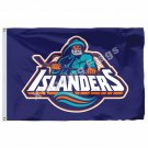 New York Islanders 3FT x5 FT 150X90CM Banner 100D Polyester NHL flag