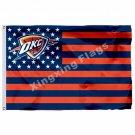 Oklahoma City Thunder Nation Flag 3ft X 5ft Polyester NBA1 Oklahoma City Thunder
