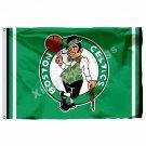 Boston Celtics Logo Flag 3ft X 5ft Polyester NBA Boston Celtics Banner Flying Si