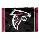 Atlanta Falcons Column Flag 3ft X 5ft Polyester NFL Atlanta Falcons Banner Flyin