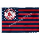 Boston Red Sox New Nation Flag 3ft X 5ft Polyester MLB Boston Red Sox Banner Fly