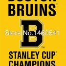 NHL Boston Bruins Stanley Cup Champions 1939 Flag 3ft x 5ft Polyester NHL Team B