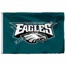 Philadelphia Eagles Flag 3ft X 5ft Polyester NFL1 Philadelphia Eagles Banner Fly