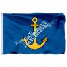 Lake Superior State Lakers Flag 3ft x 5ft Polyester NCAA Banner Lakers Flying Si