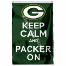 Green Bay Packers Keep Calm And Packer On Flag 3ft X 5ft Polyester NFL1 Team Ban