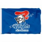 Newcastle Knights Flag 3ft X 5ft National Rugby League NRL Banner Size 4 90*150c