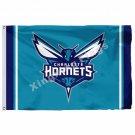 Charlotte Hornets Column Flag 3ft X 5ft Polyester NBA1 Charlotte Hornets Banner
